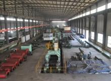 螺旋钢管生产车间