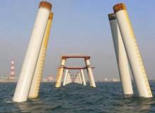 海上打桩用螺旋钢管施工