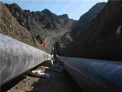 供水长输管线用螺旋钢管施工