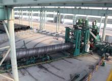 螺旋钢管的生产设备照片