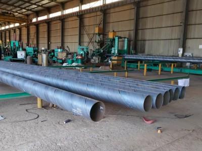 自来水厂供水用螺旋钢管